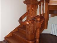 Лестницы из карагача и березы Лучший материал для изготовления лестницы конечно же дуб! Но его цена не каждому по карману. Карагач - удивительно краси, Барнаул - Другие строительные услуги