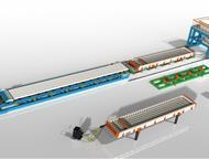 Бийск: Линия по производству пустотных плит ПК Компания «Интэк» занимается производством технологических линий, бетонных заводов, бетоносмесителей, металлофо