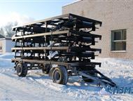 Прицеп шасси тракторные ТОРОС Модульные дома, производство ООО «Нефтекамского завода мобильных зданий», представляют собой передвижную конструкцию для, Ярославль - Разное