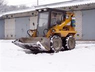Аренда минипогрузчика Минипогрузчик Бобкэт для планировки участка, уборка и погрузка снега, расчистка территорий от зарослей кустарника и мелких дерев, Новосибирск - Аренда автомобилей