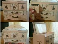 Самара: Шкатулка-комод Париж Продам шкатулку для украшений или прочих мелочей. Состояние отличное.