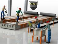 Технологическая линия по производству световых опор св Производственное предприятие Интэк производит и поставляет технологические линии под ключ для, Волгоград - Строительные материалы