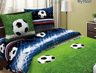 Комплект детского постельного белья Футбол Комплект постельного белья Футбол. Натуральная ткань, качественные красители обеспечат крепкий сон, прекр, Волгоград - Детская мебель