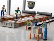 Воткинск: Технологическая линия по производству световых опор св Производственное предприятие Интэк производит и поставляет технологические линии под ключ для